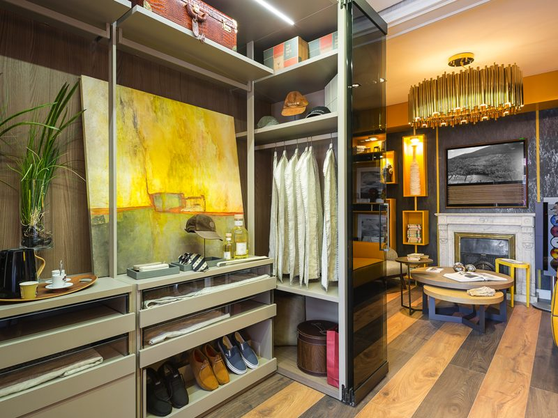 Ideas para montar un vestidor I. Espacios masculinos