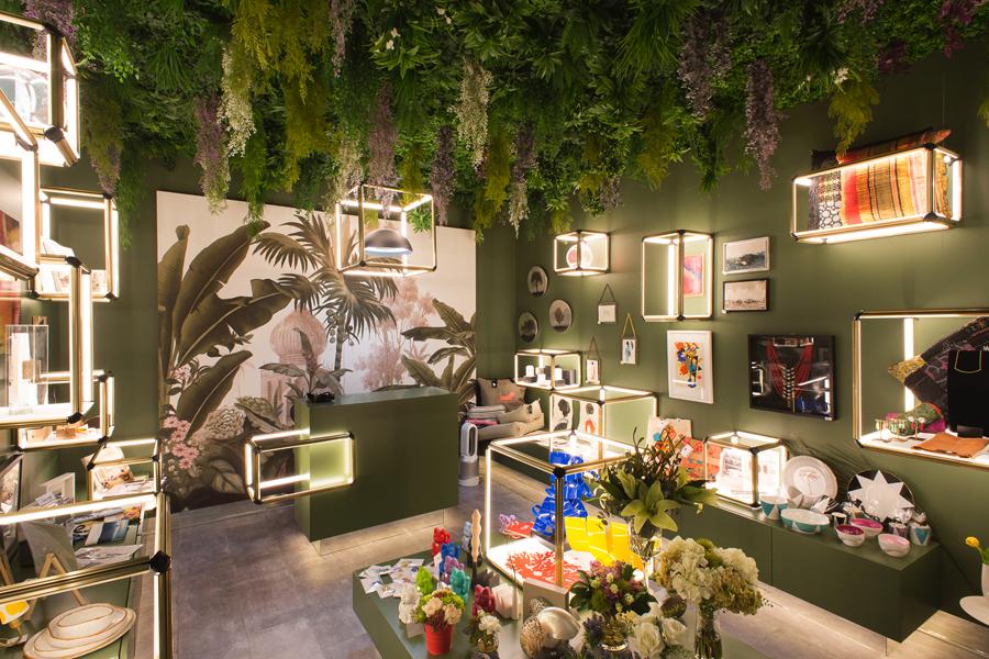 Tienda de diseño de Luzco DM en Casa Decor 2017