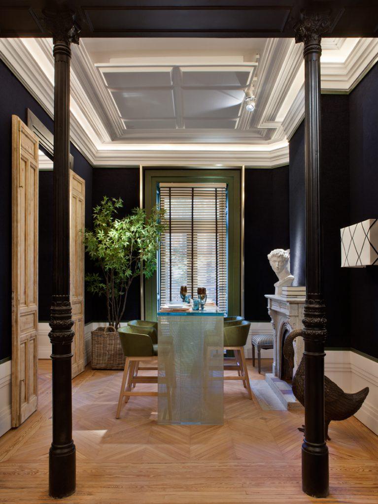 Restaurante urban blue de manuel espejo en casa decor - Casa decor 2017 madrid ...