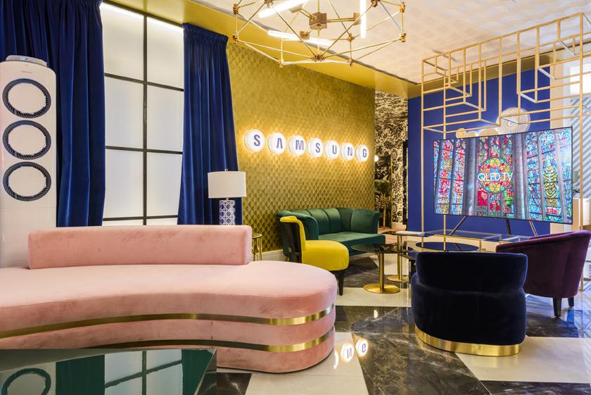 Salón «Home Gallery TV» – Espacio Samsung