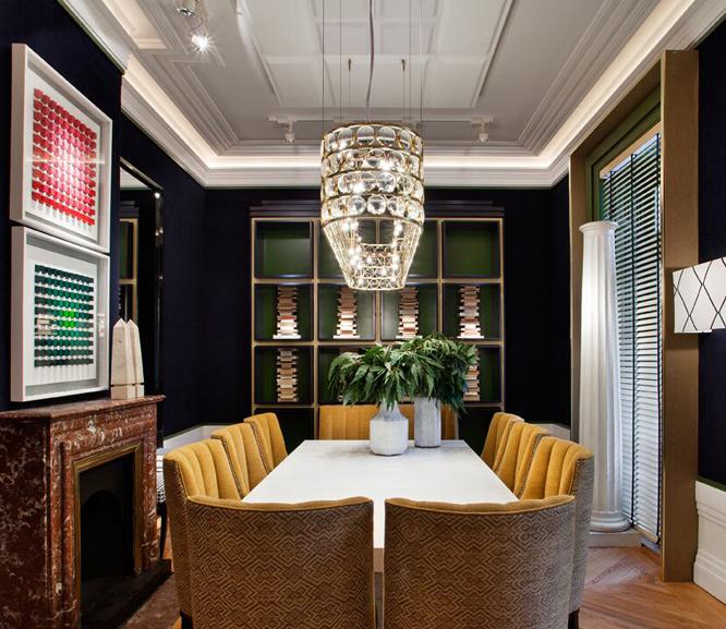 L mparas de techo punto focal en la decoraci n de espacios - Casas de lamparas en barcelona ...