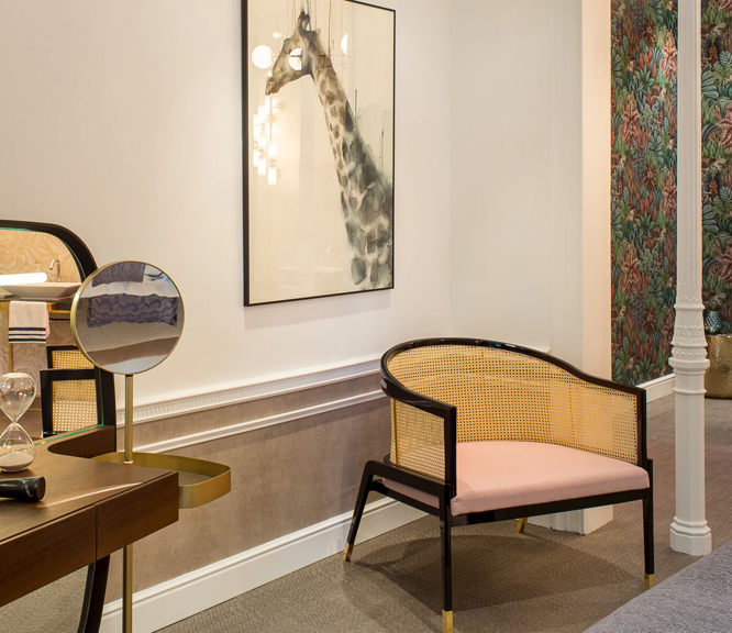 Muebles de rejilla para decorar interiores modernos Interiores modernos