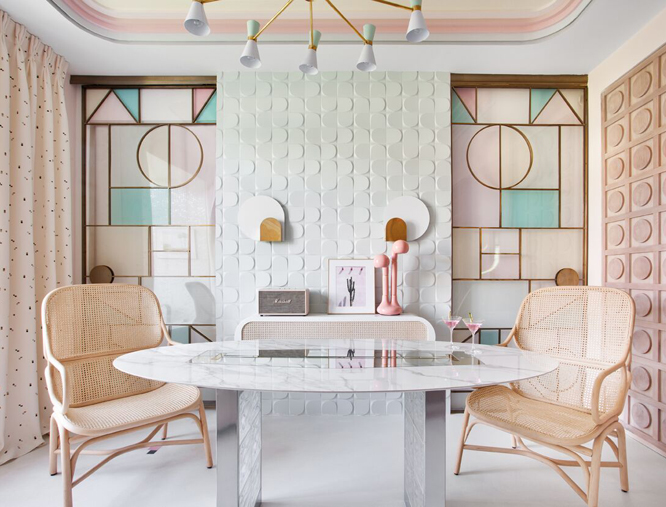 Muebles de rejilla para decorar interiores modernos for Muebles bustos