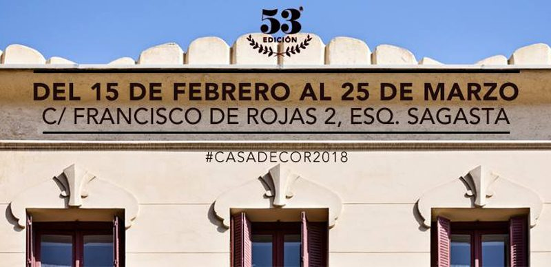 ¡Aquí se celebrará Casa Decor 2018!
