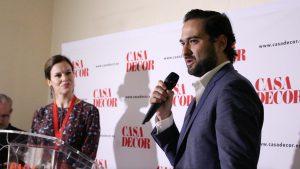 Roberto Perri, director general de la empresa The Corner Group, patrocinador de Casa Decor 2018, que ha cedido el edificio.