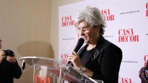 """Eugenia Sanz, directora de la exposición """"Arte Abierto"""""""