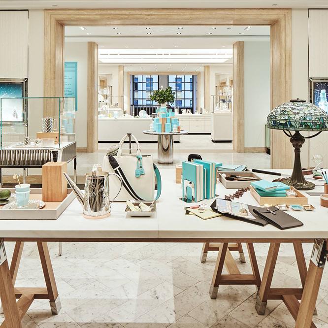 Tiffany abre un café en su emblemática tienda de la Quinta Avenida
