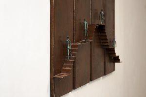 Escultura de Alonso Márquez en Arte Abierto