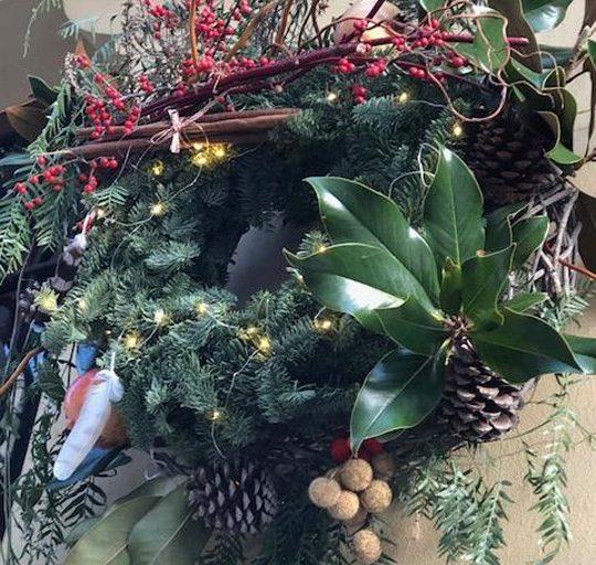 La Navidad llega a la exposición Casa Decor Arte Abierto