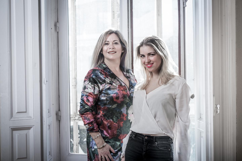 Mayte Fernández y Cristina Berrocal
