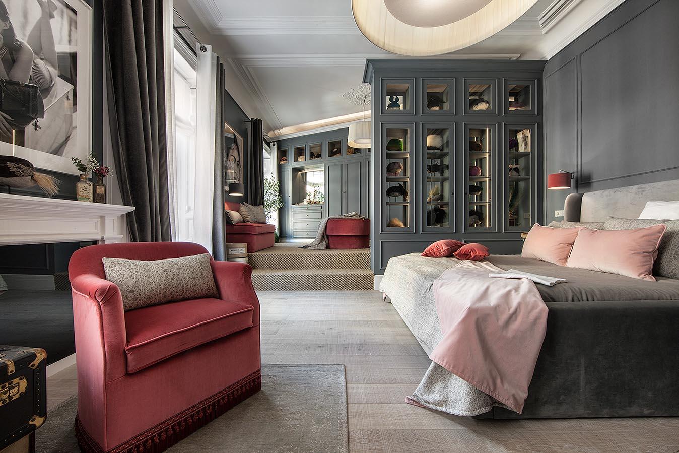 Dormitorio con vestidor «Colección de tocados»