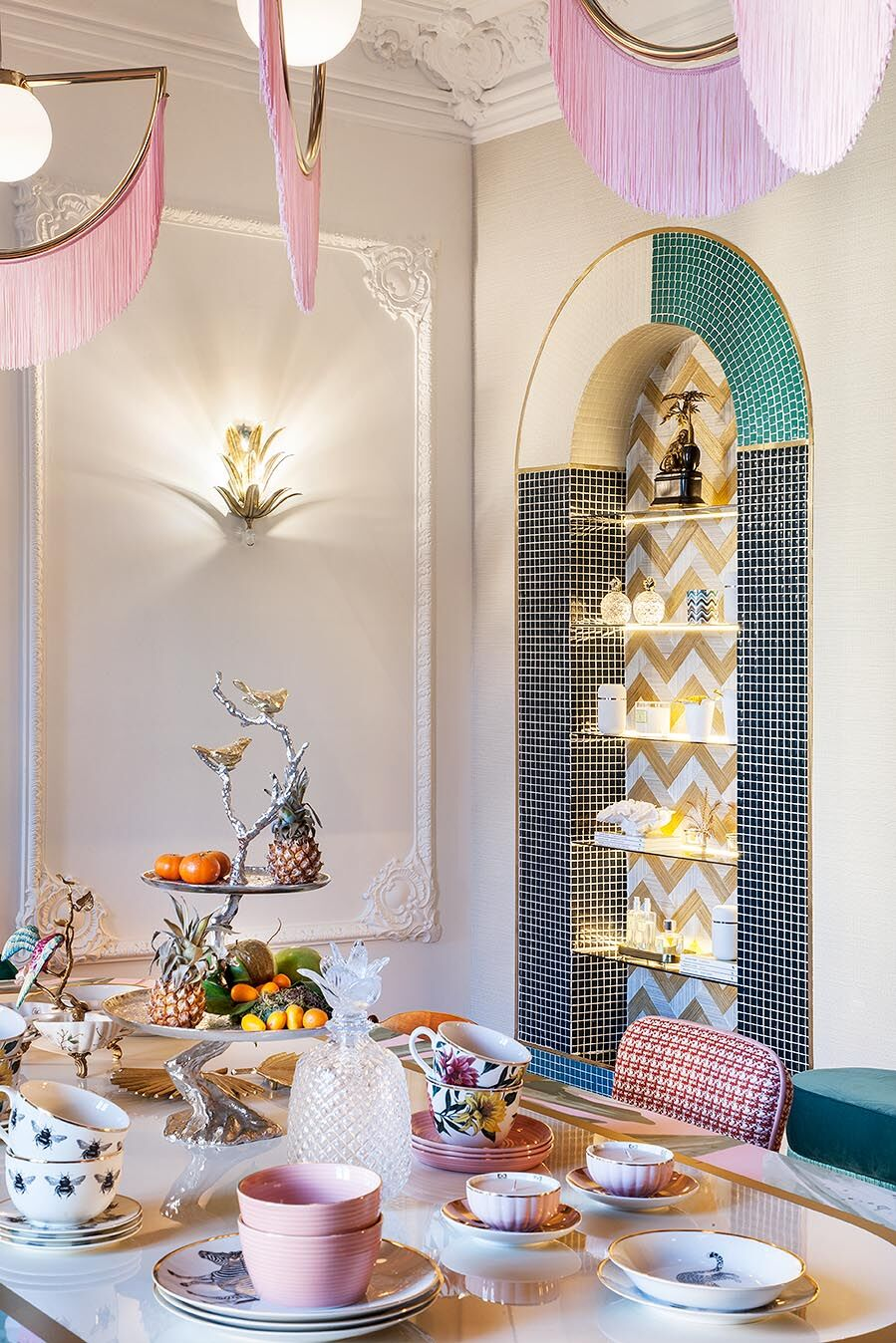 "Comedor ""Tropical Lunch"" de Virginia Gasch en Casa Decor 2018"