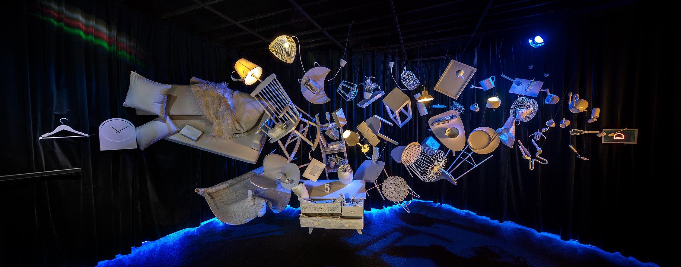 """Instalación """"Let's flow: en constante evolución"""" – Espacio Kave Home"""
