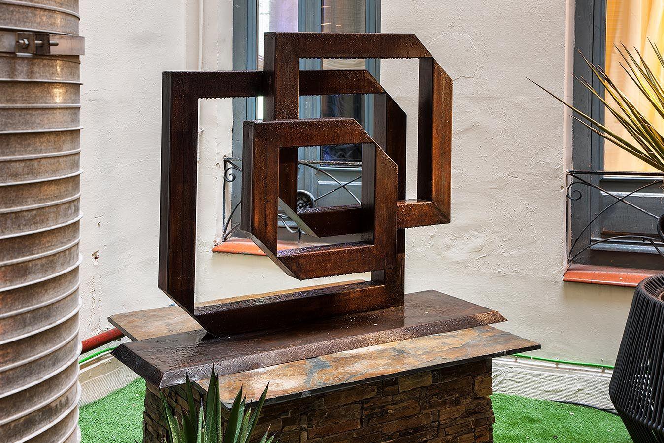 Escultura de Pilar Saenz en Casa Decor 2018