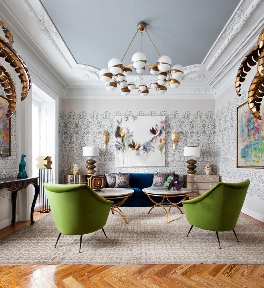 """Sala de estar """"Por amor al arte: en busca de la belleza"""""""