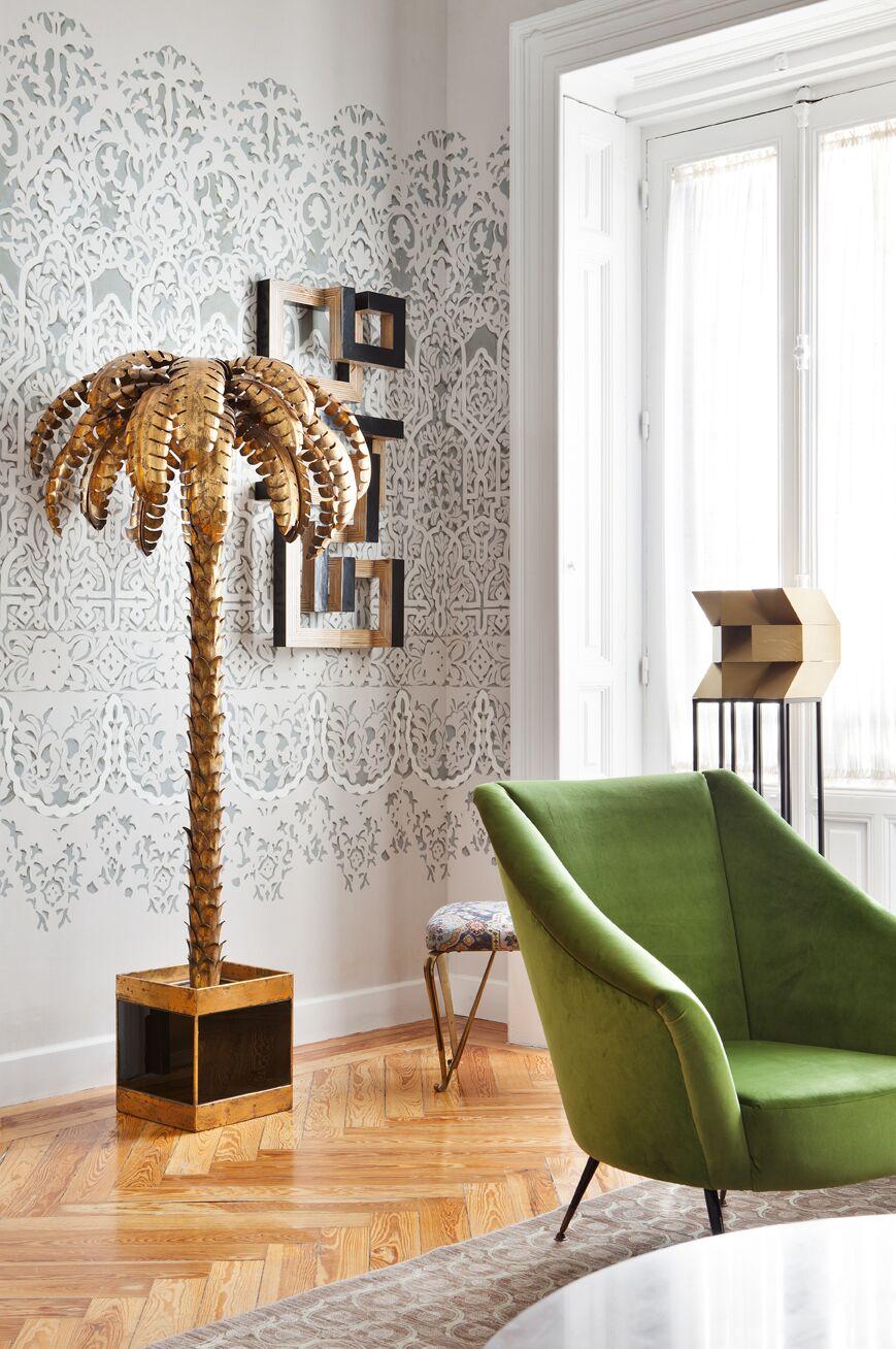 Salón decorado por Beatriz Bálgoma en Casa Decor 2018