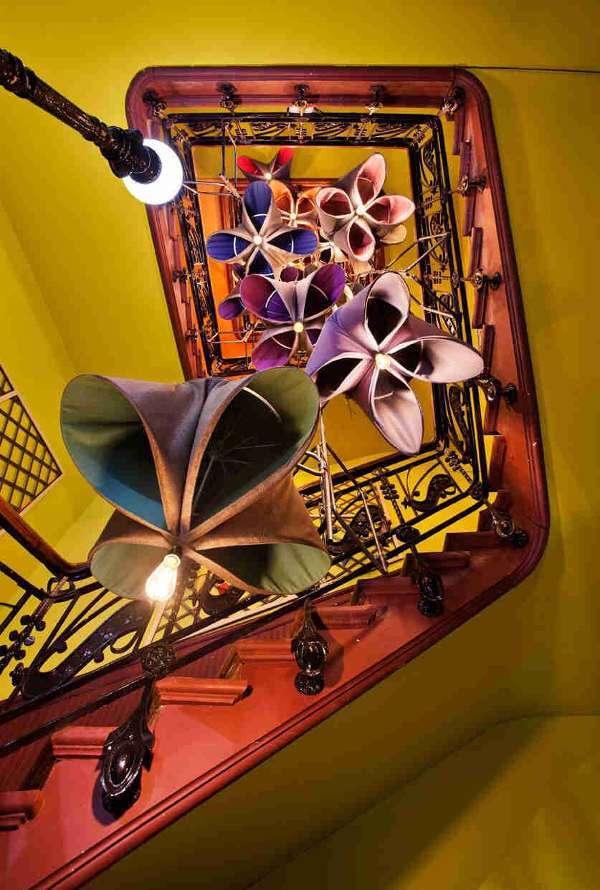 Subiendo la escalera con Gertrude. El jardín Sunbrella – Espacio sunbrella, IzaskunChinchilla, AlejandroEspallargas, JesúsValer y RobertodeVicente