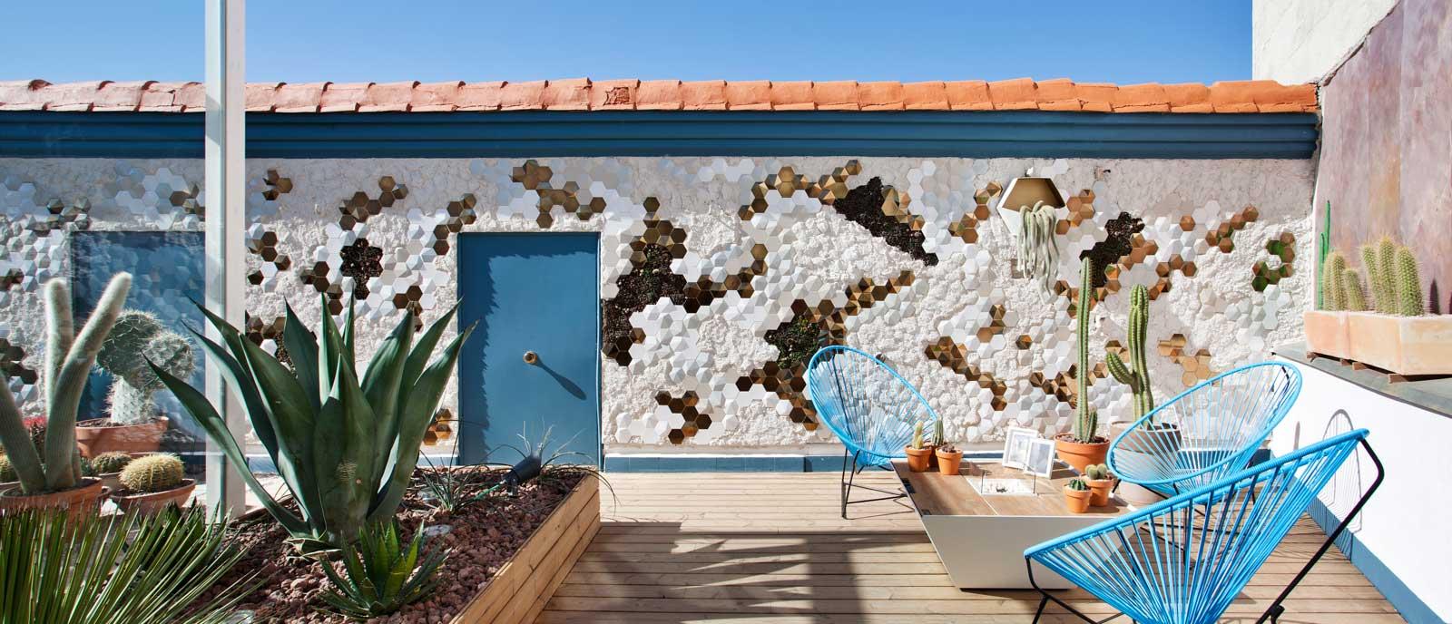 Azotea «Un vergel de contrastes» – Espacio Desert City