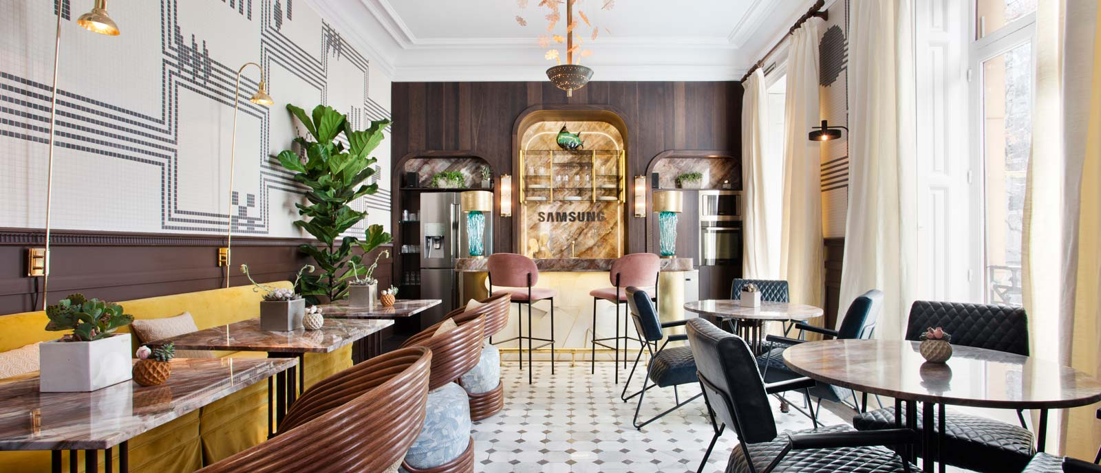 "Restaurante ""Samsung Club"" – Espacio Samsung"