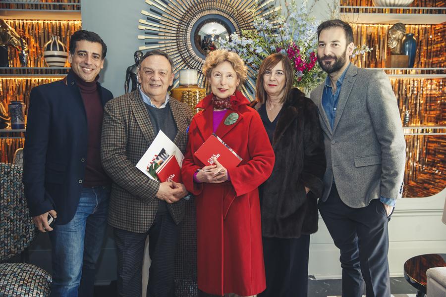 Jurado Premios Casa Decor 2018: Héctor Ruiz-Velázquez, José Vicente Plaza, Lola Gavarrón, Charo Izquierdo y Erico Navazo