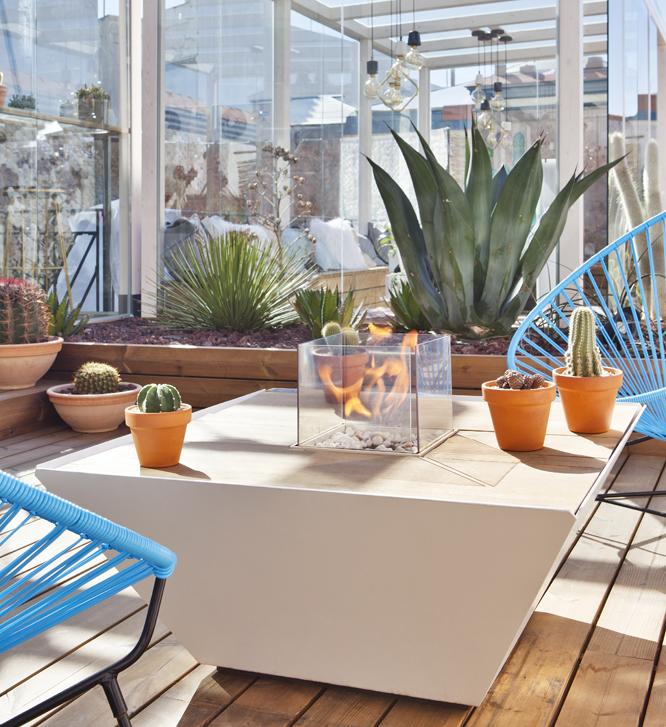 Chimeneas y estufas de diseño Lumbre en Casa Decor 2018