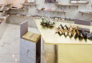 Taburete diseñado por Gabriel Bautista en Casa Decor 2018