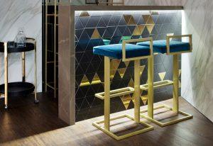 Taburetes diseñados por Cristina Barriga en Casa Decor 2018