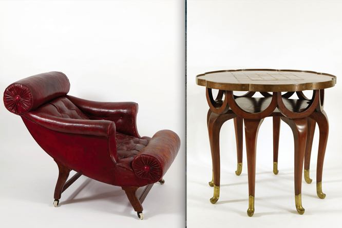 adolf loos en caixa forum madrid muebles