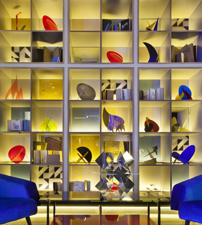 Esculturas de Abraham Benzadón en el espacio ThyssenKrups, de Cuca García Lorente