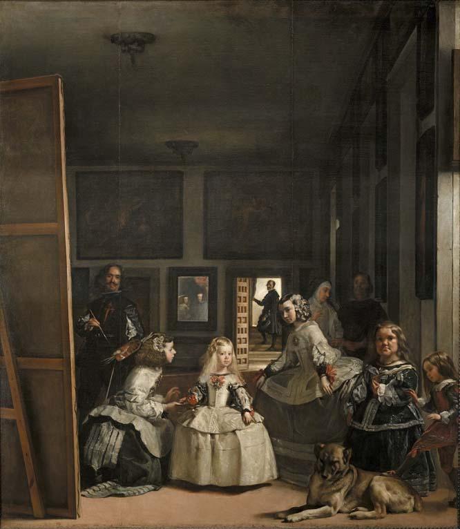 """""""Las Meninas"""" de Velázquez"""