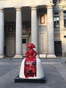 """Eloy Morales (""""Menina en Rojo""""): Paseo del Prado, 11"""