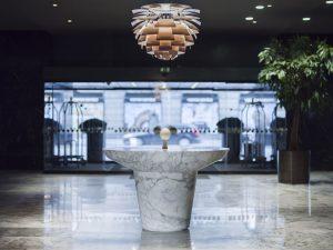 Lobby del Radisson Collection Royal Hotel, Copenhagen