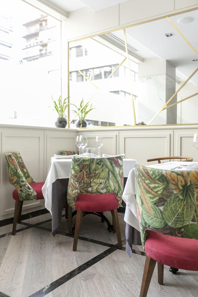 La decoradora Virginia Sánchez, responsable de la nueva imagen del restaurante Piñera