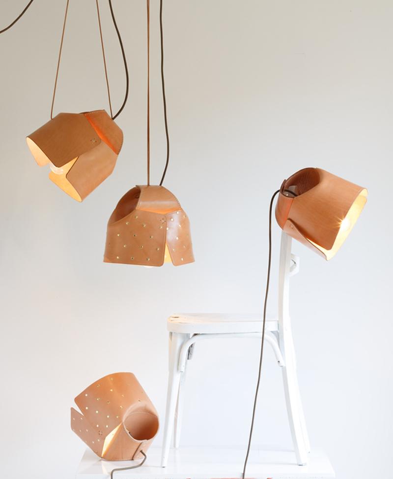 """Diseño Fresco 2018. Lámpara """"Animal de compañía"""", diseñada por Mara Matey, autoproducción."""