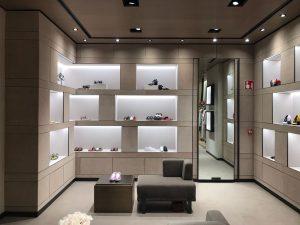 Nueva tienda de Bottega Veneta por FiPro Studio