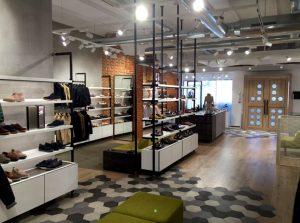 Tienda Geox diseñada por FiPro Studio