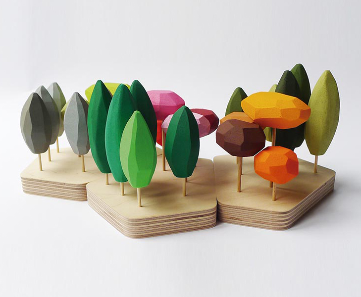 Producto Fresco 2018. Seasonal Forest, diseño de Fragiletalier.