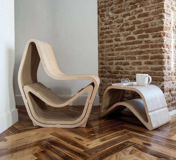 Producto Fresco 2018. Silla Balanced, diseño de OOO My Design.