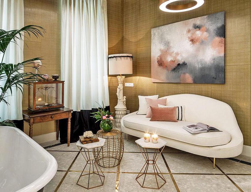 Ideas para dar vida a las paredes con cuadros o fotos - Que cuadros poner en el salon ...