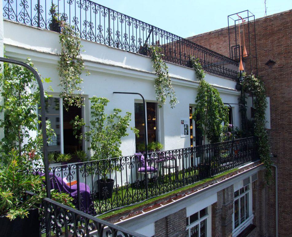 Terrazas urbanas buenas ideas para sacarles mayor partido for Terrazas nocturnas madrid