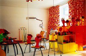 Peluquería proyectada por Ágatha Ruiz de la Prada en Casa Decor 2003