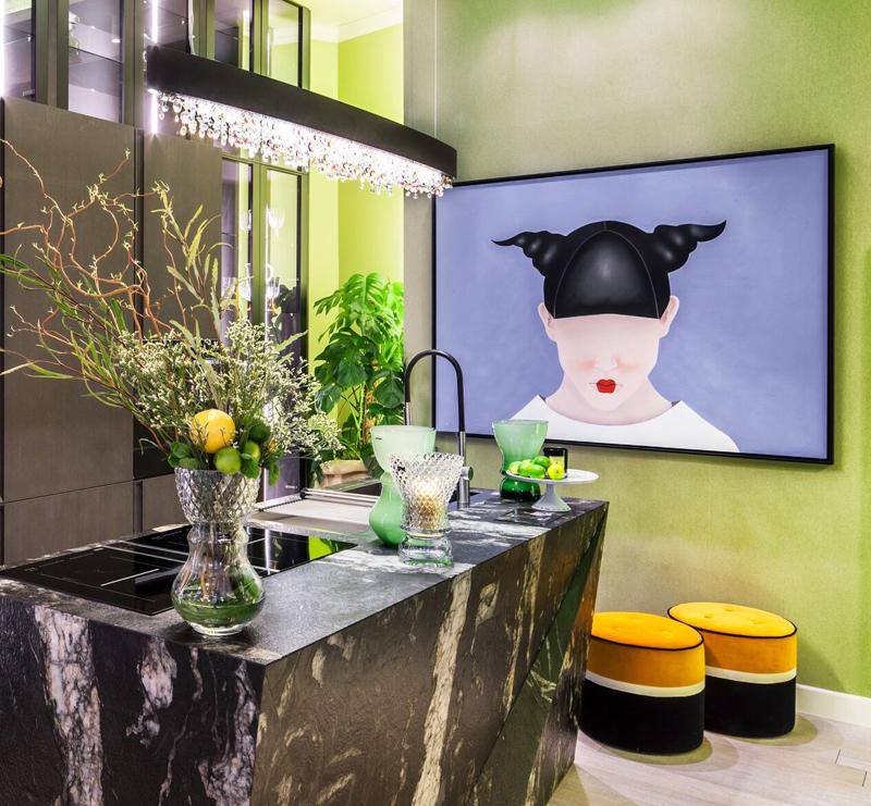 Ideas para dar vida a las paredes con cuadros o fotos - Decorar paredes cocina ...