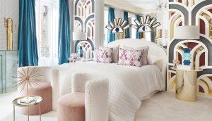Dormitorio diseñado por Nuria Alía en Casa Decor 2018