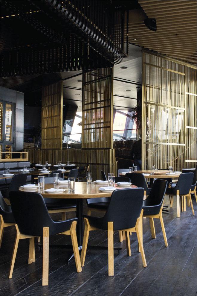 Restaurante El 34, en CoolRooms Atocha