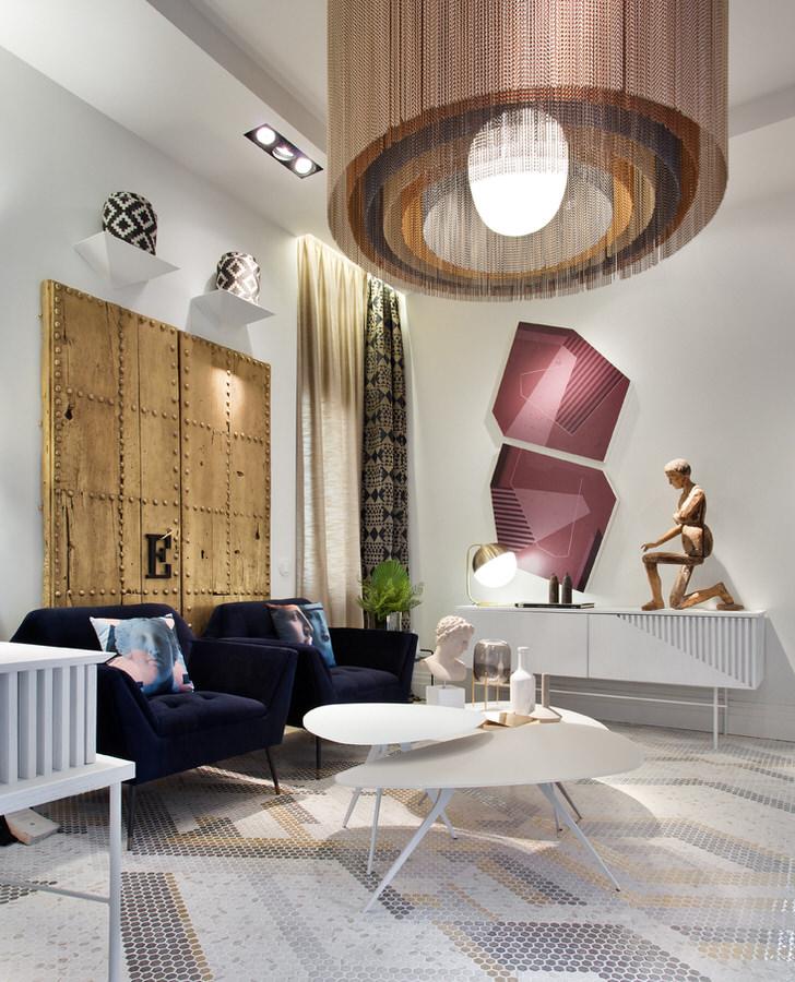 """Sala de estar """"La hora del arte"""""""