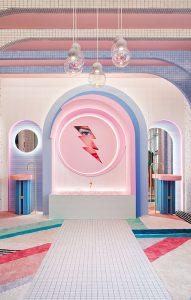 """Vestidor """"Wonder Galaxy"""" por Patricia Bustos en Casa Decor 2019"""