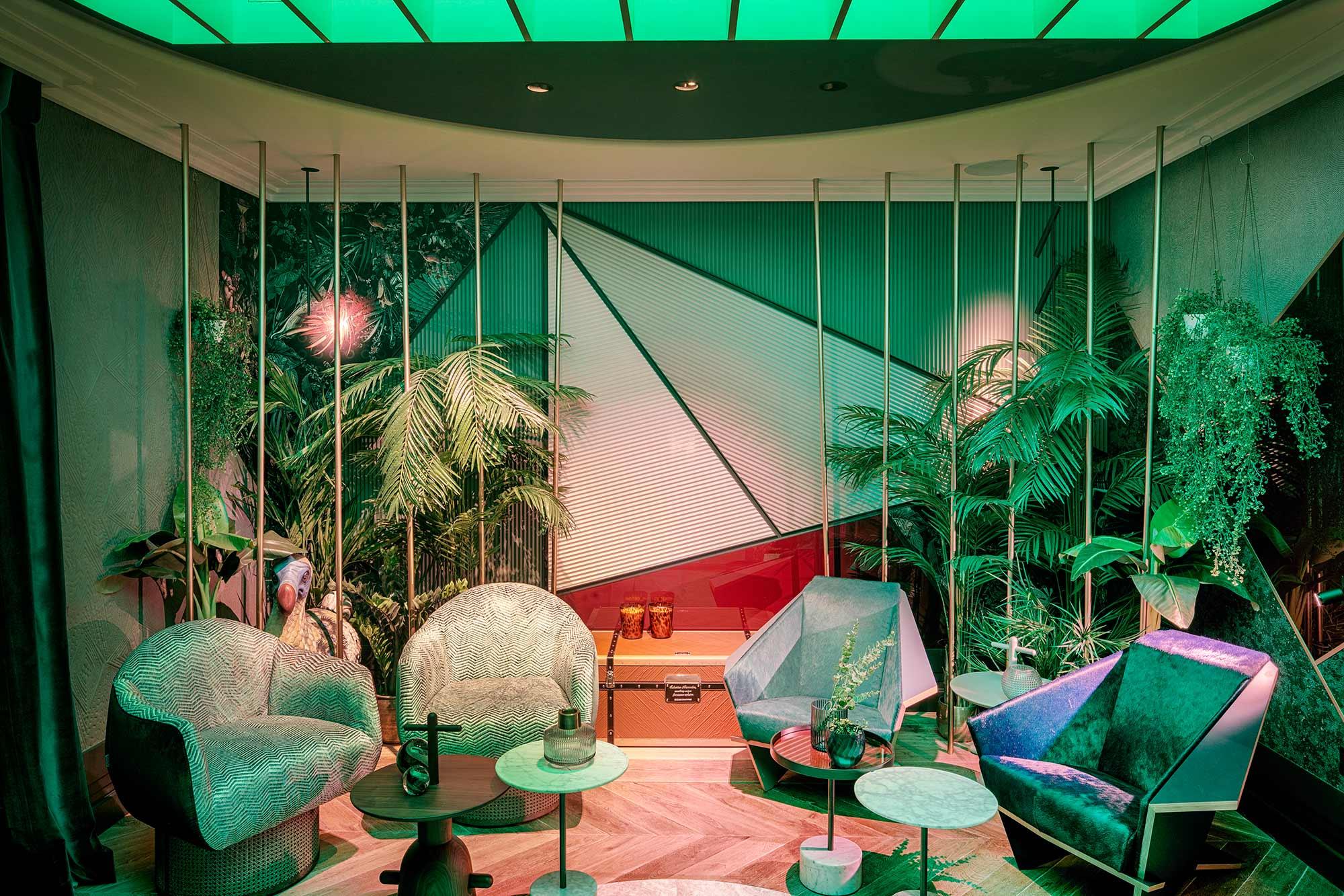 """Lobby de hotel """"The Cage"""" – Espacio Gira"""