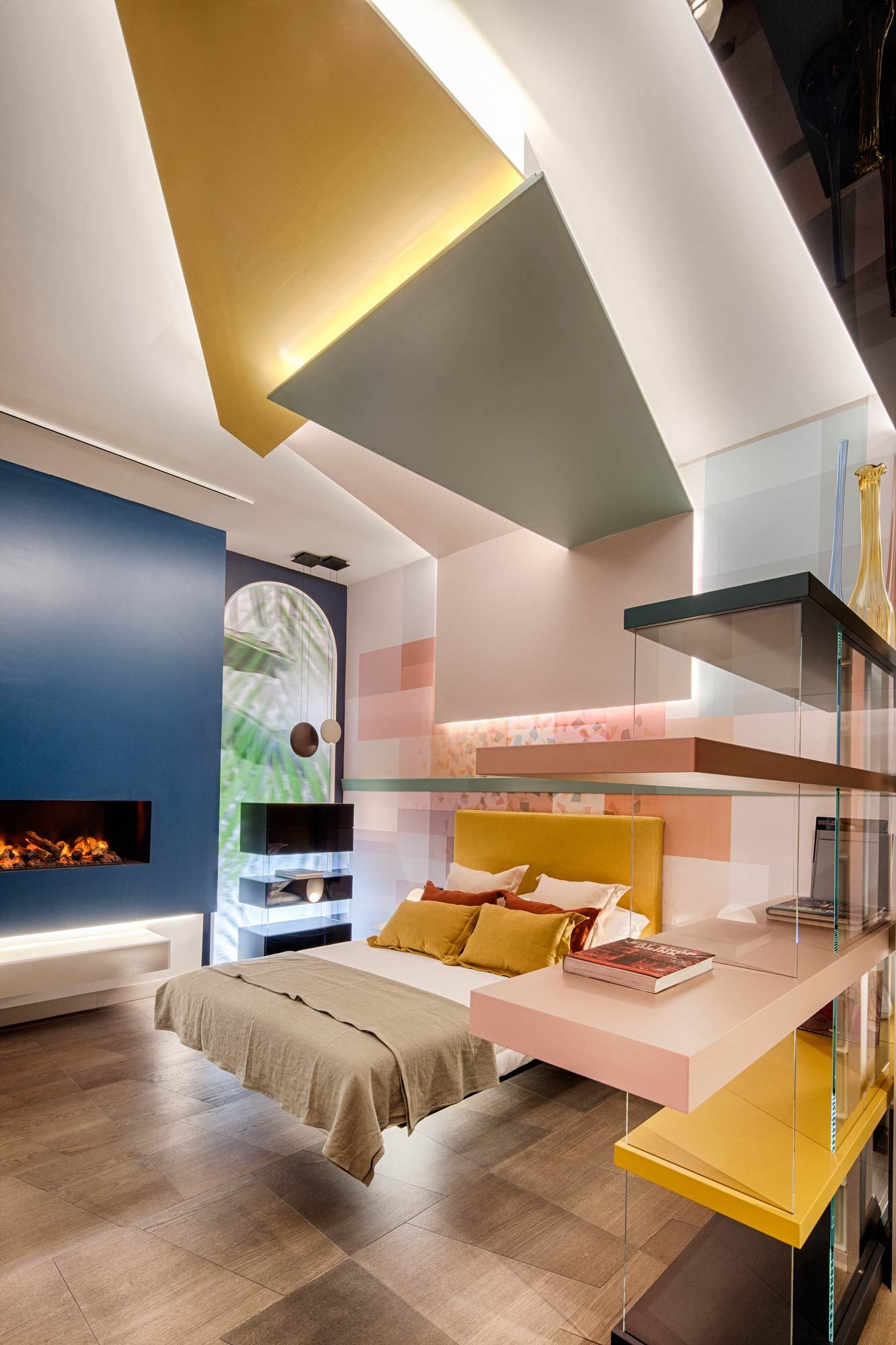 "Dormitorio ""Dream in Colors"" – Espacio Lago"