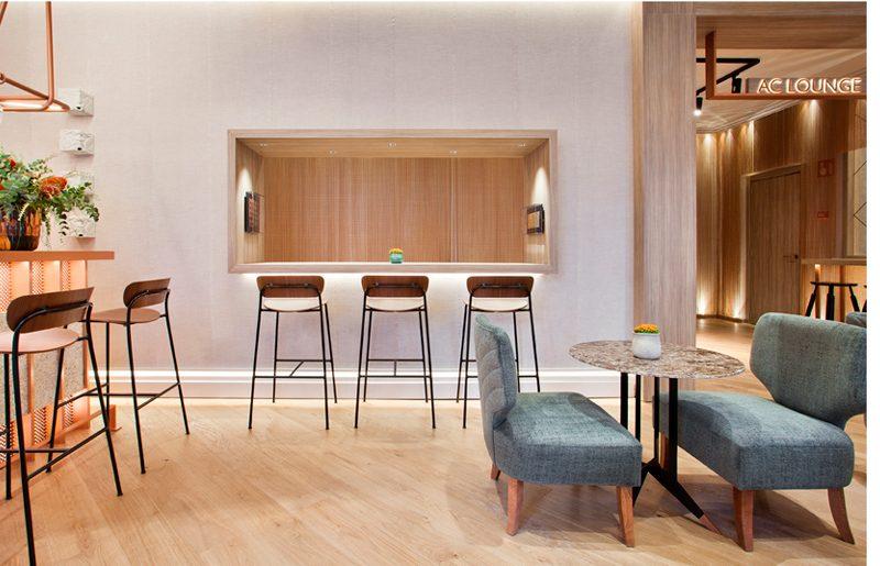 AC Lounge, restaurante moderno y funcional en Casa Decor 2019