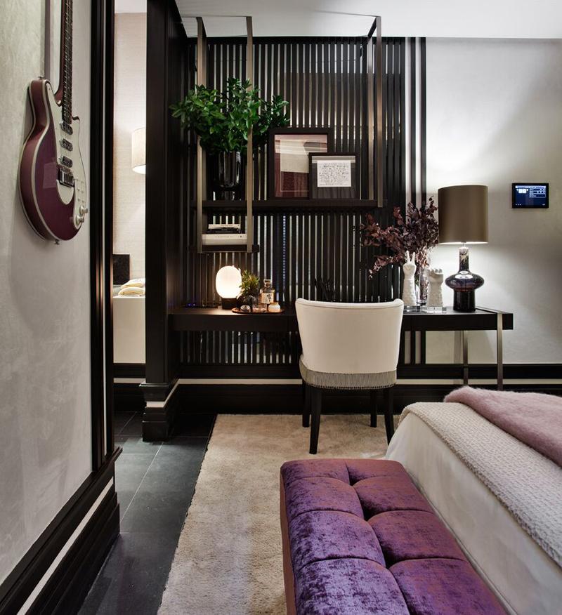Editores Textiles. Dormitorio de Marisa Gallo para Hager